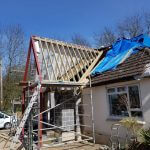 pitched roof for porch